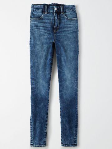 ג'ינס סקיני אסיד ווש / נשים