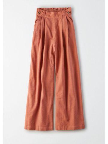 מכנסיים רחבים עם כפתורים / נשים של AMERICAN EAGLE