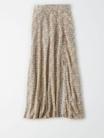 חצאית מידי בהדפס חברבורות/ נשים