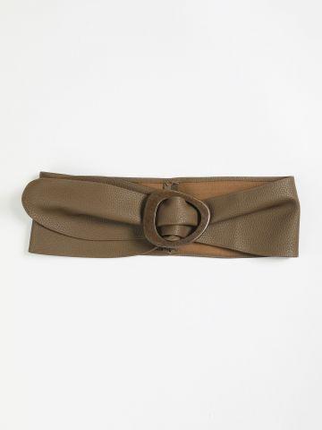 חגורת הידוק דמוי עור / נשים