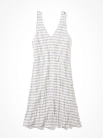 שמלת מיני בהדפס פסים / נשים של AMERICAN EAGLE