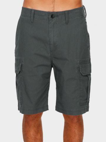 מכנסי ברמודה ווש עם כיסים