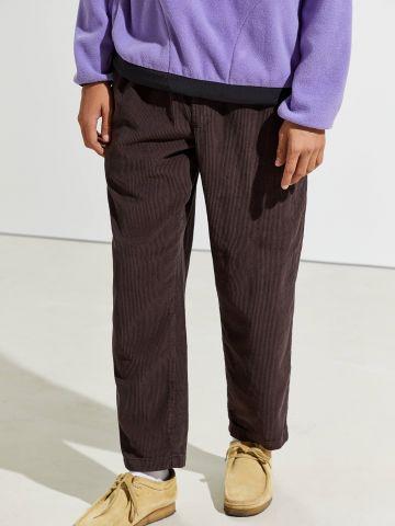 מכנסי קורדרוי בגזרה רחבה UO