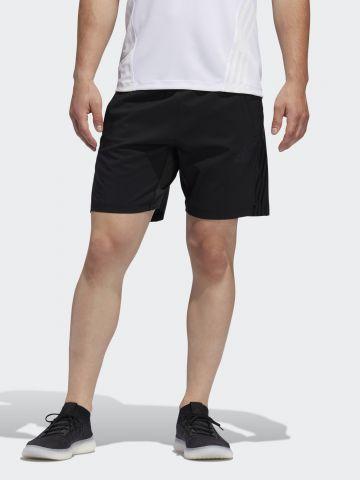 מכנסי אימון קצרים עם לוגו