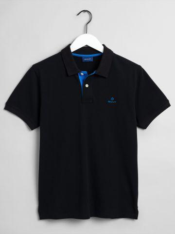 חולצת פולו עם רקמת לוגו / גברים