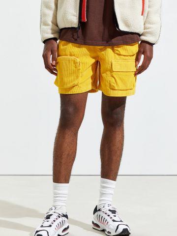 מכנסי קורדרוי קצרים עם כיסים Without Walls