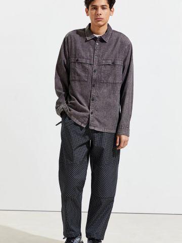 חולצת אסיד ווש מכופתרת UO