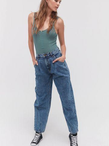 ג'ינס ווש בגזרה גבוהה Alice BDG