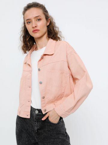 ג'קט ג'ינס עם כיסים עמוקים של YANGA