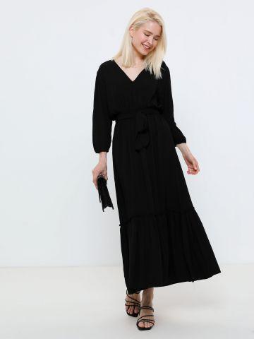 שמלת מקסי פפלום