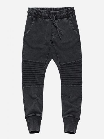 מכנסי טרנינג דמוי ג'ינס / בנים