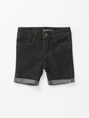 מכנסי ג'ינס קצרים עם קיפול בסיומת / בנות של FOX
