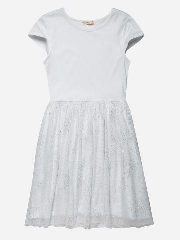 שמלת מיני עם חצאית טול / בנות