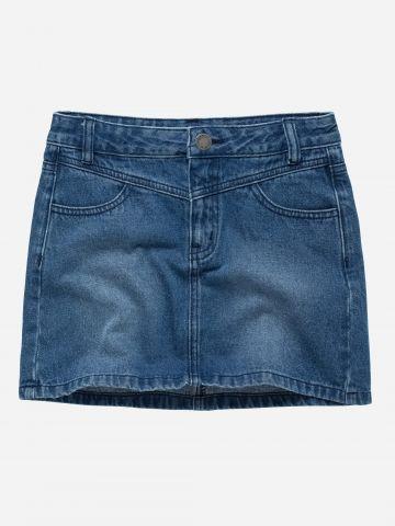 חצאית ג'ינס מיני / בנות