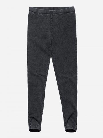 טייץ פוטר ארוך דמוי ג'ינס / בנות