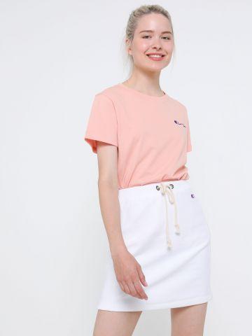 חצאית מיני טרנינג עם לוגו של CHAMPION
