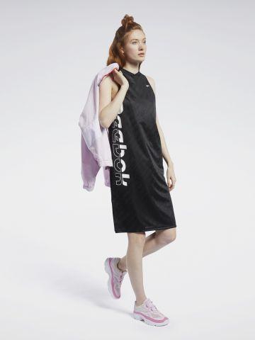 שמלת מיני בגימור מבריק של REEBOK
