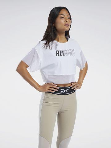 חולצת אימון עם רשת