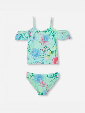 בגד ים שני חלקים בהדפס פרחים / בנות של THE CHILDREN'S PLACE
