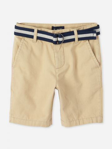 מכנסי ברמודה עם חגורה / בנים של THE CHILDREN'S PLACE