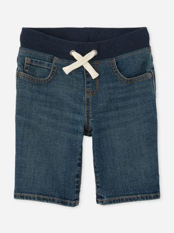 ג'ינס קצר עם גומי / בנים