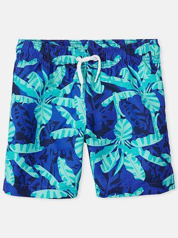 מכנסי בגד ים בהדפס דקלים / בנים