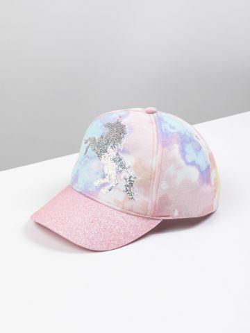 כובע מצחייה טאי דאי עם חד קרן / בנות