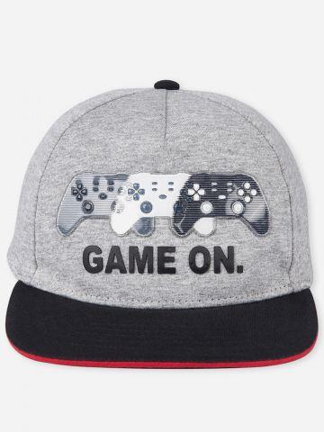 כובע מצחייה עם פאץ' / בנים