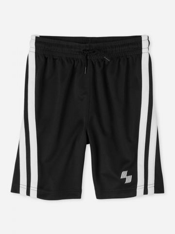 מכנסי ספורט רשת עם סטריפים / בנים