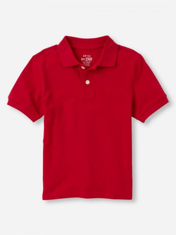 חולצת פולו שרוולים קצרים / בנים של THE CHILDREN'S PLACE