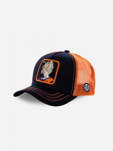 כובע מצחייה עם פאץ' דרגון בול GOKU / גברים של CAPS LAB