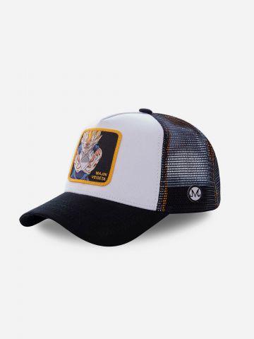 כובע מצחייה עם פאץ' דרגון בול MAJIN VEGETA / גברים של CAPS LAB