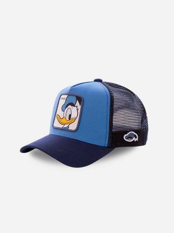 כובע מצחייה עם פאץ' דונלד דאק / גברים
