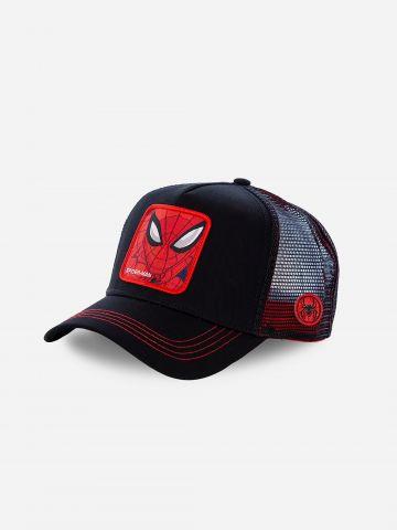 כובע מצחייה עם פאץ' ספיידרמן / גברים של CAPS LAB