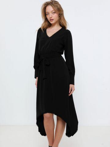 שמלת מידי אסימטרית