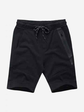 מכנסי טרנינג קצרים עם כיסים / בנים