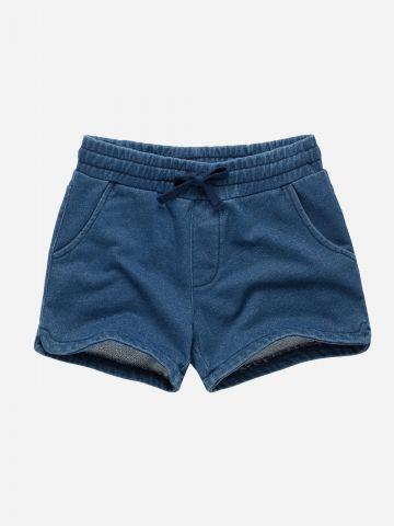 מכנסיים קצרים דמוי ג'ינס מנצנץ / בנות של FOX