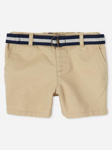 מכנסי ברמודה עם חגורה / 9M-4Y