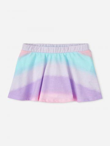 חצאית מיני מולטי קולור / 9M-4Y