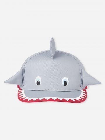 כובע מצחייה בדוגמת כריש / בייבי