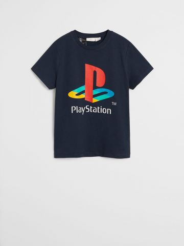 טי שירט עם הדפס 9M-4Y \ playstation
