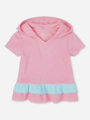 שמלת קפוצ'ון עם מלמלה / 9M-4Y של THE CHILDREN'S PLACE