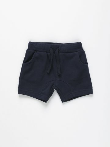 מכנסי טרנינג קצרים / 6M-5Y