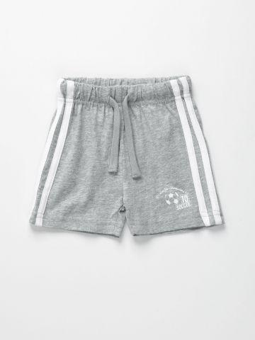 מכנסי טרנינג קצרים עם סטריפים / 6M-5Y