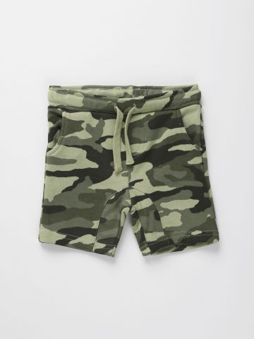 מכנסיים קצרים בהדפס קמופלאז' / 6M-5Y