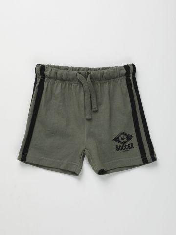 מכנסיים קצרים עם סטריפים / 6M-5Y