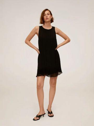 שמלת מיני פליסה