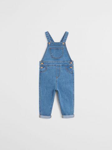 אוברול ג'ינס ארוך / 9M-4Y