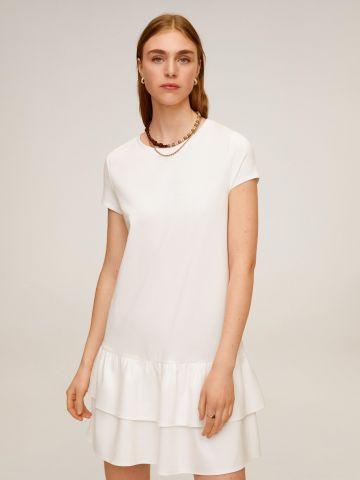 שמלת מיני בסגנון שכבות של MANGO