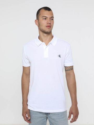 חולצת פולו עם לוגו Regular Fit